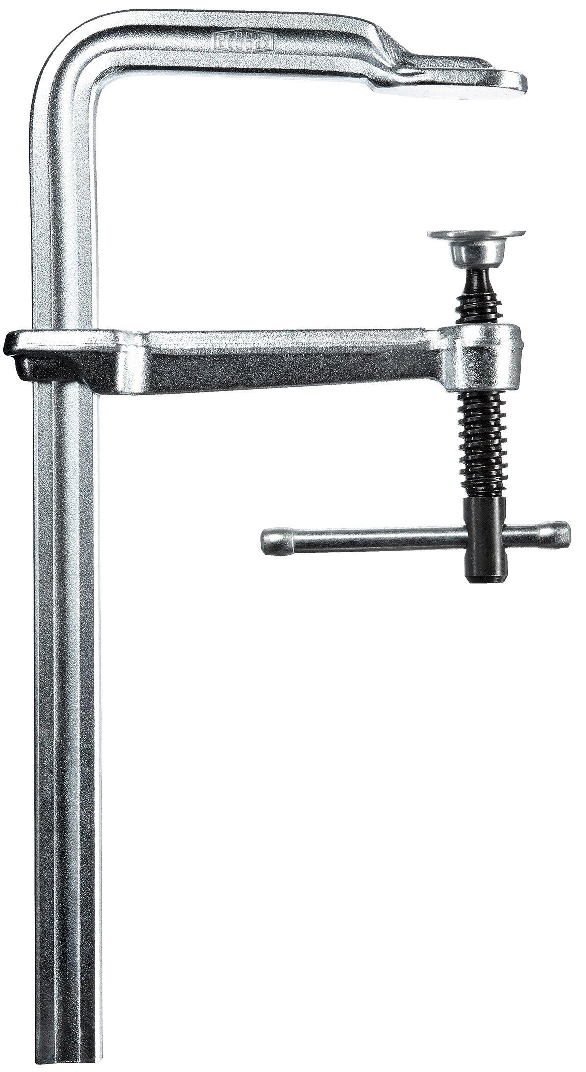 Bessey GS25K Screw Clamp''Classix'' 9.84In/4.72In of Steel, Silver