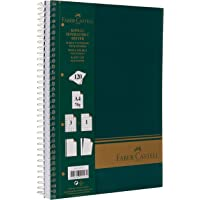 Faber-Castell 5075400305 Sert Kapak Sep.3+1 Yeşil Defter, 120 Yaprak