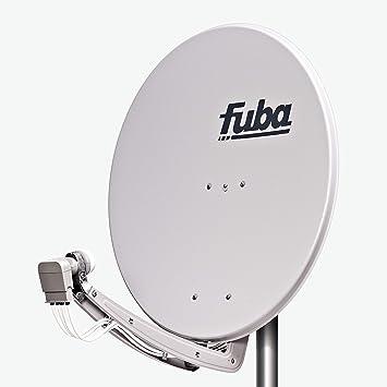 Fuba DAA 780 G - Antena parabólica (38,50 dB, 78 cm), color gris