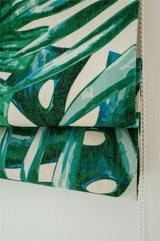 KARUILU home Quick Fix Washable Roman Window Shades Flat Fold , Custom any width from 14