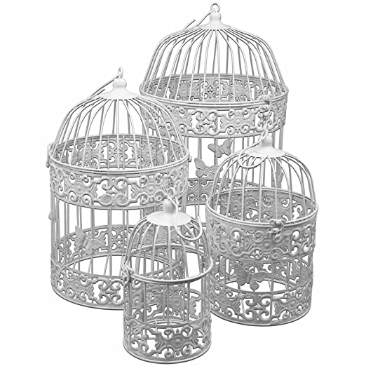 4 piezas. Set jaula decorativa Decoración jaula Mariposas H22/31 ...