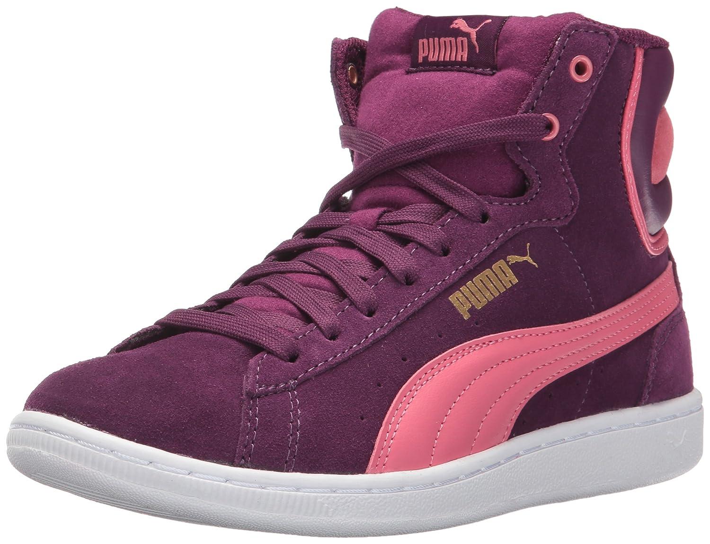 PUMA Women's Vikky Mid Fashion Sneaker B01MSZPIBR 11 M US|Dark Purple-rapture Rose