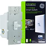 GE Enbrighten Z-Wave Plus Smart Light Switch, Works with Alexa, Google Assistant, 3-Way Compatible, ZWave Hub Required…