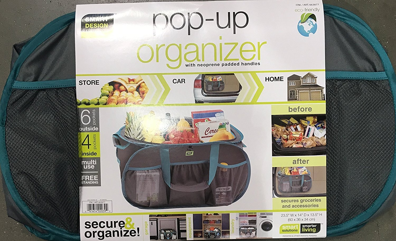 スマートデザイン/ Pop Up Organizer Tote B01N1R2KQ9
