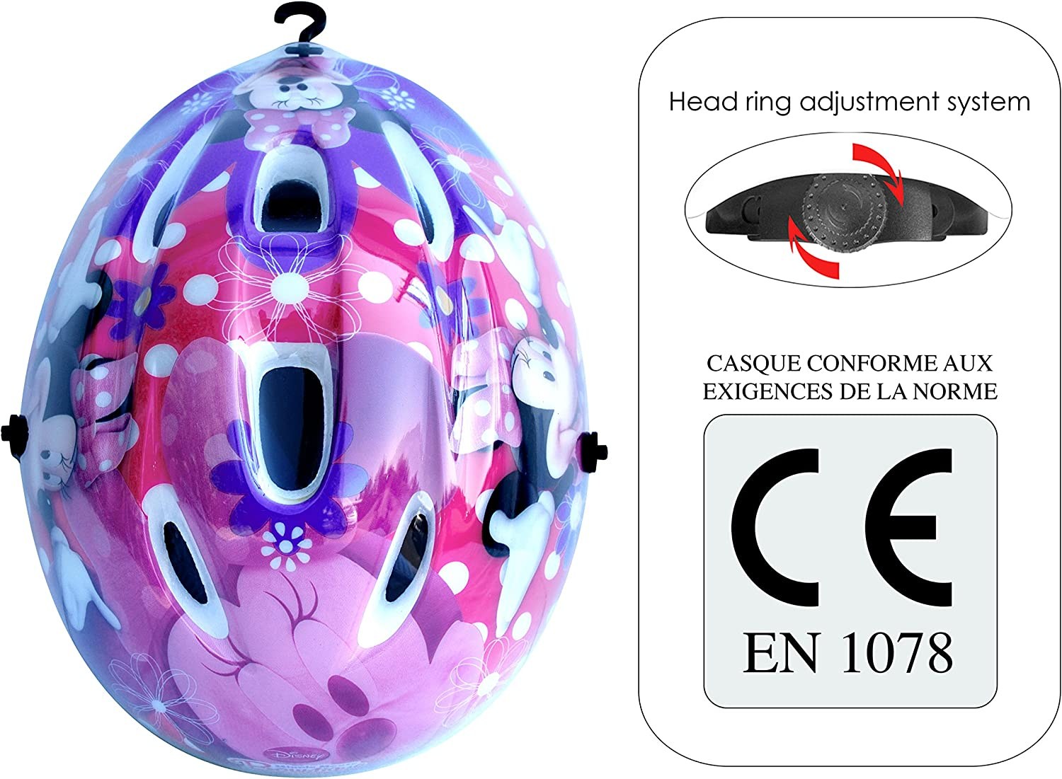 Accessori per  Bicicletta Minnie Bowtique Stamp C863100XS Casco XS