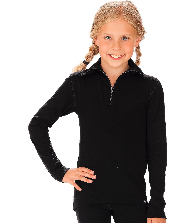 Trigema Mädchen Langarmshirt Langarm Ski/Sport Shirt, Gr.
