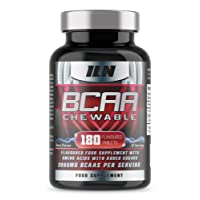 BCAA Chewable - 2000mg BCAAs x 45 Servings - Berry Flavoured BCAA Tablets | 180 Tablets