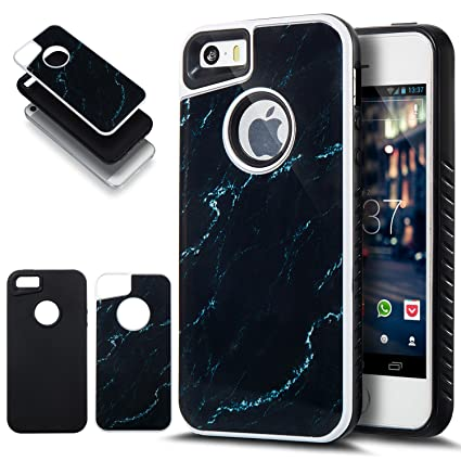 Amazon Com Iphone 5s Case Iphone Se Case Iphone 5 Case Ikasus Slim