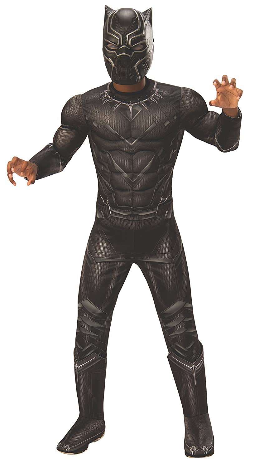 Rubies Costume Captain America: Civil War Deluxe Black Panther Costume, Small