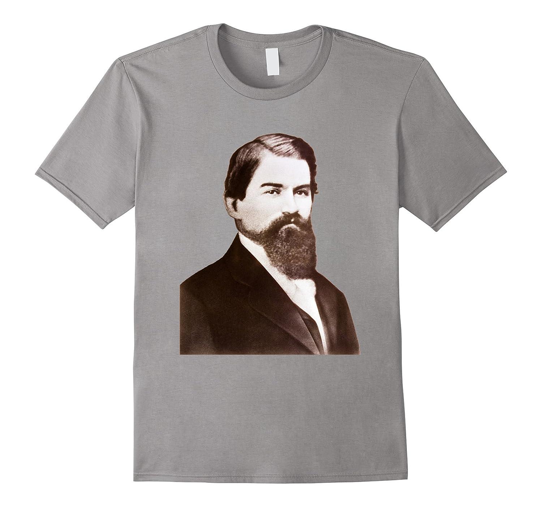John Stith Pemberton Civil War Veteran Inventor T-shirt-TH