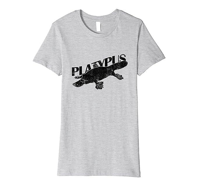 24cd71995881 Amazon.com: DUCK BILLED PLATYPUS - funny comedy weird animal T-shirt:  Clothing
