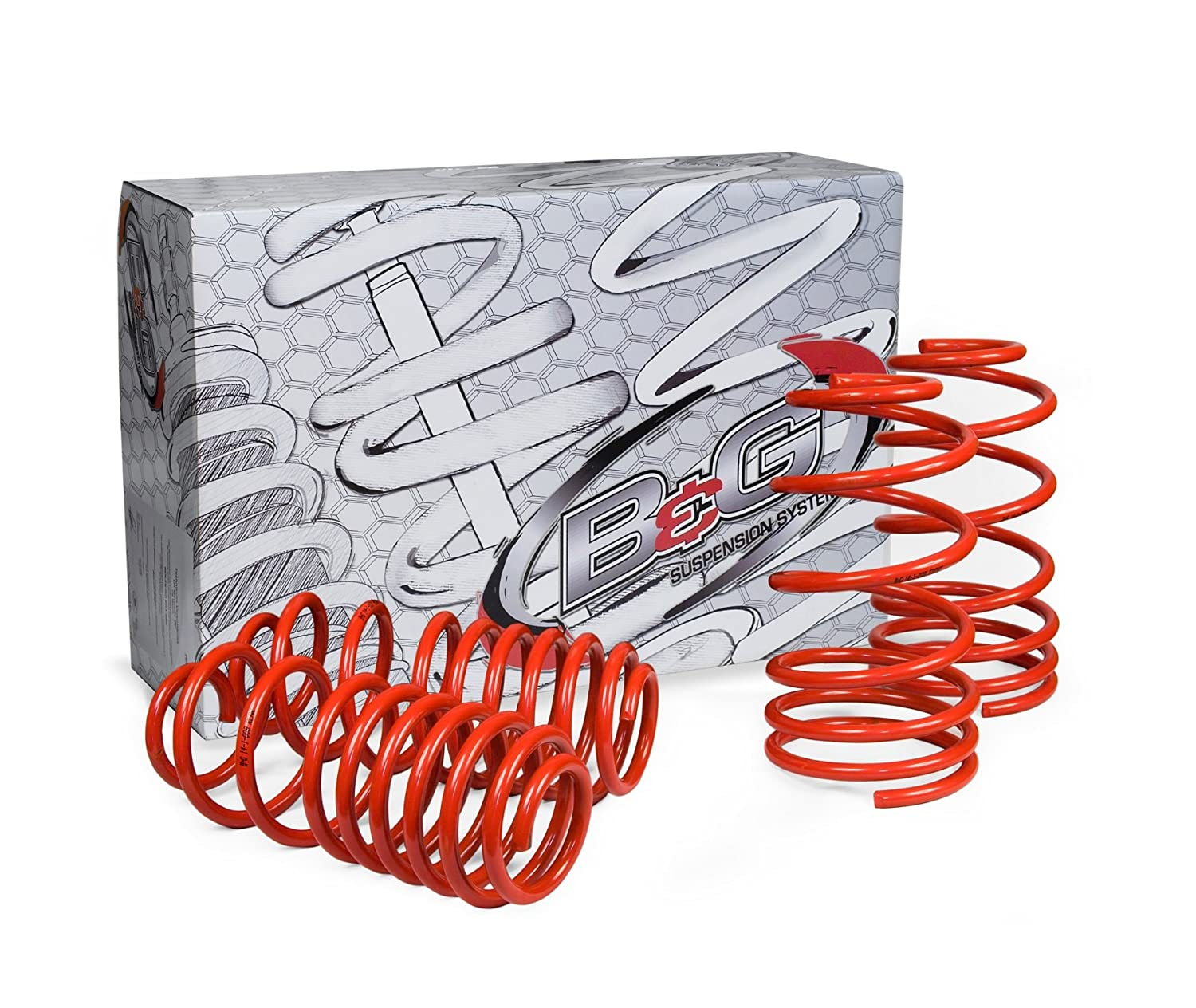 B/&G Suspension Systems 88.1.005 S2 Sport Vehicle Lowering Spring