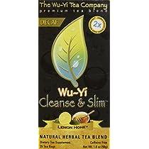 Wuyi tea fogyás