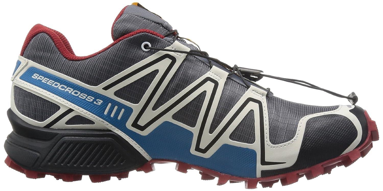on sale 7ab5a 6f6c3 Salomon Men s Speedcross 3 CS Trail Running Shoe, Dark Cloud Light Grey Flea,  14 M US  Buy Online at Low Prices in India - Amazon.in