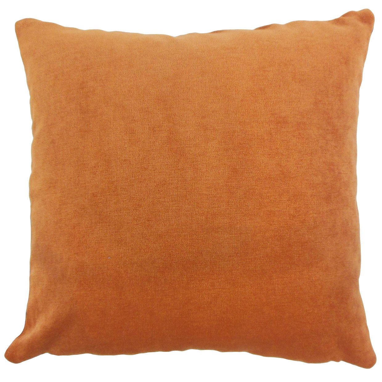Ginger The Pillow Collection P18-BAR-M9583-GINGER-P91N9 Xyla Solid Pillow