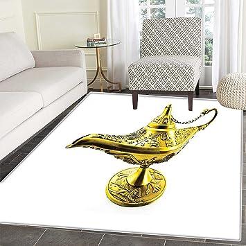 Amazon Com Arabian Rug Kid Carpet Aladdin S Magic Genie Lamp Wish