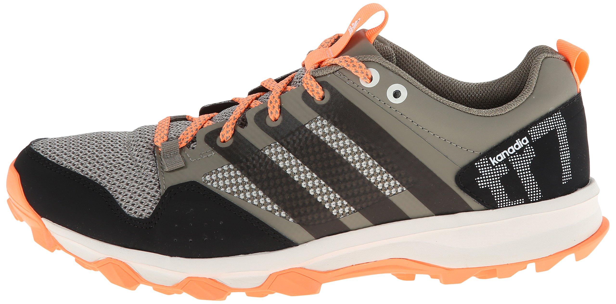 adidas Performance Women's Kanadia 7 TR W Trail Running Shoe, Clay/Chalk/Flash Orange, 7 M US by adidas (Image #5)