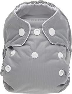 product image for Thirsties Natural Newborn All in One Cloth Diaper, Snap Closure, Fin (5-14 lbs)