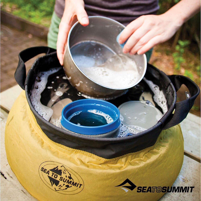 Green Sea To Summit Kitchen Sink 10l Unisex Adventure Gear Camping Accessory