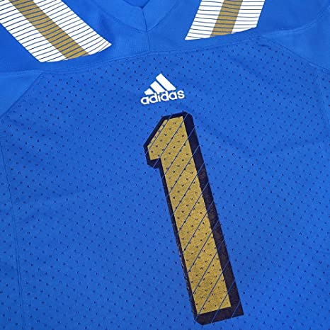 4e4ed93bb689 adidas UCLA Bruins NCAA Light Blue Official Home Team Color  1 Replica Football  Jersey for