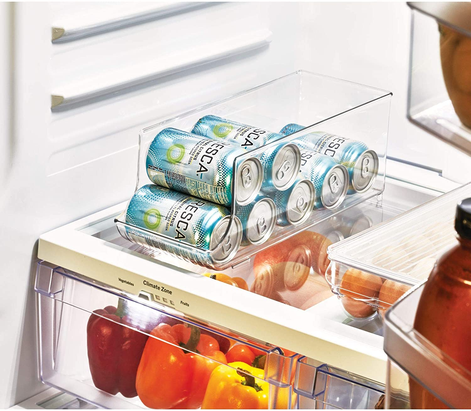 InterDesign Fridge/Freeze Binz Organizador de latas, caja de ...