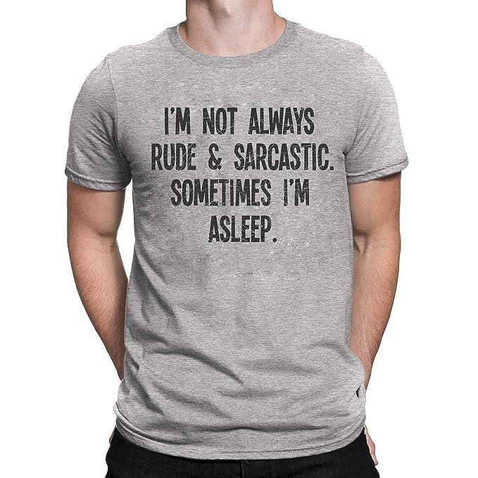 3ae78420 Sometimes I`m Asleep Mens & Ladies Unisex Fit Slogan T-Shirt: Amazon.co.uk:  Clothing