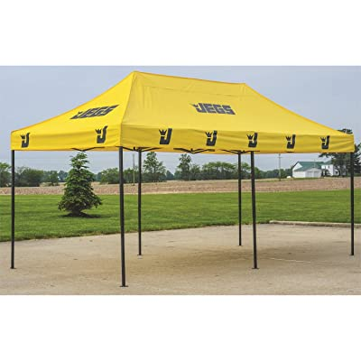 JEGS 2010 Instant-Up Canopy 10 ft. by 20 ft. Yellow With JEGS Logo: Automotive