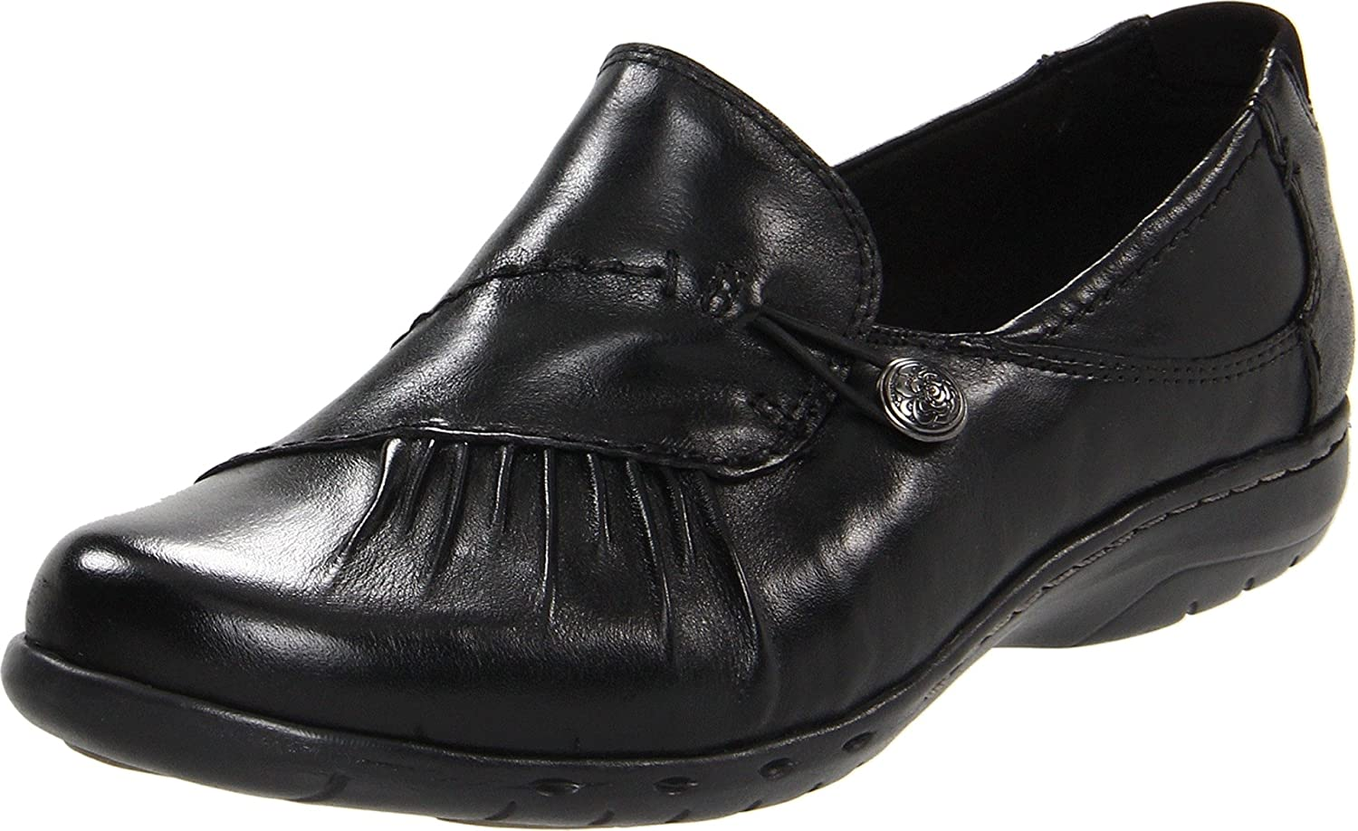 Black Rockport Cobb Hill Women's Paulette Flat