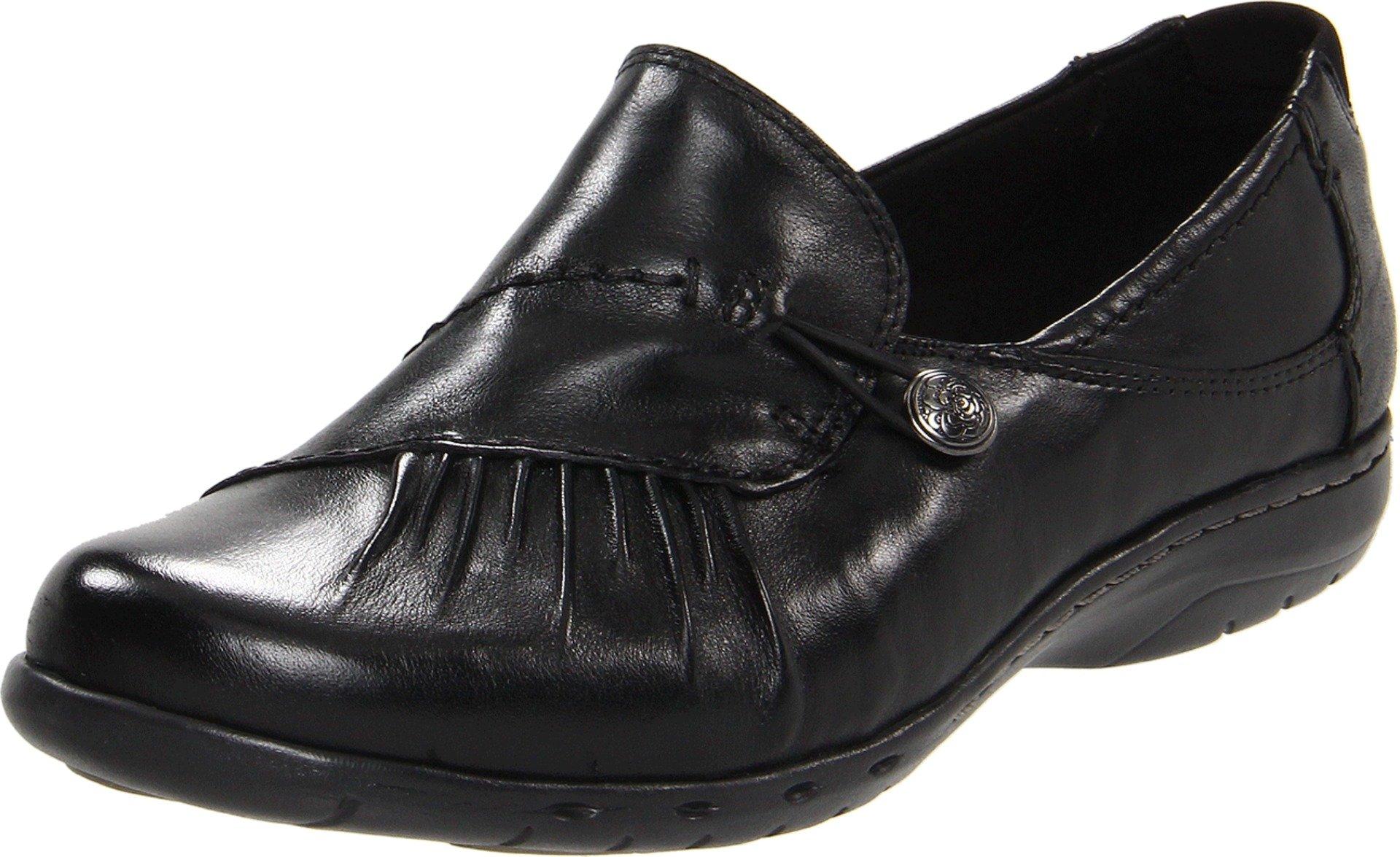 Cobb Hill Women's Paulette BLACK Leather Dress 12 B(M) US