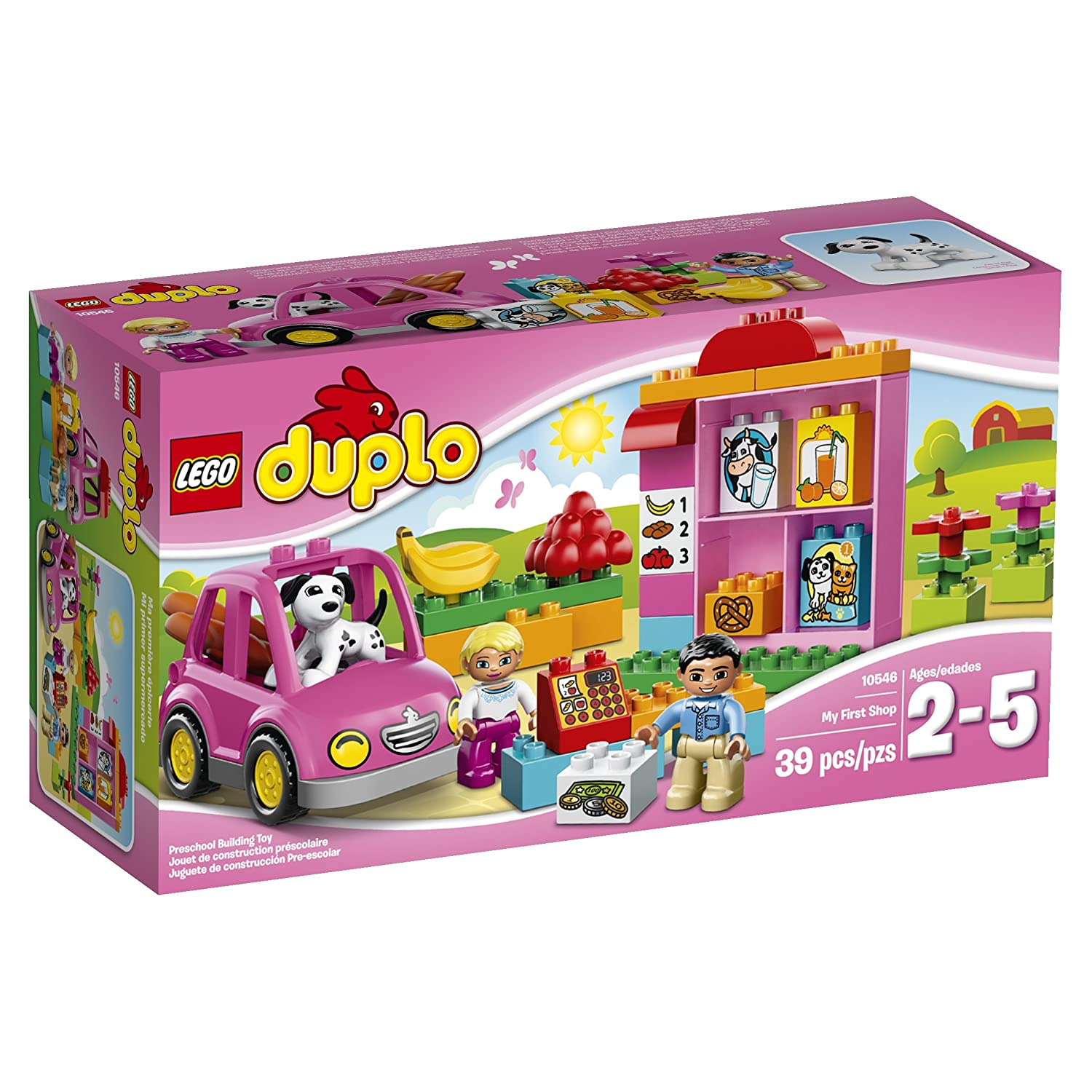 Amazoncom Lego Duplo Ville 10546 My First Shop Toys Games