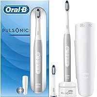 Oral-B Pulsonic Slim Luxe 4200 elektrisk tandborste för friskare tandkött på 4 veckor, 3 rengöringslägen inklusive…