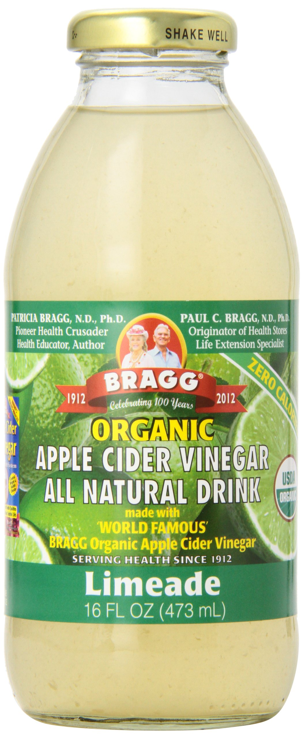 Amazon.com : Bragg Organic Apple Cider Vinegar - Ginger