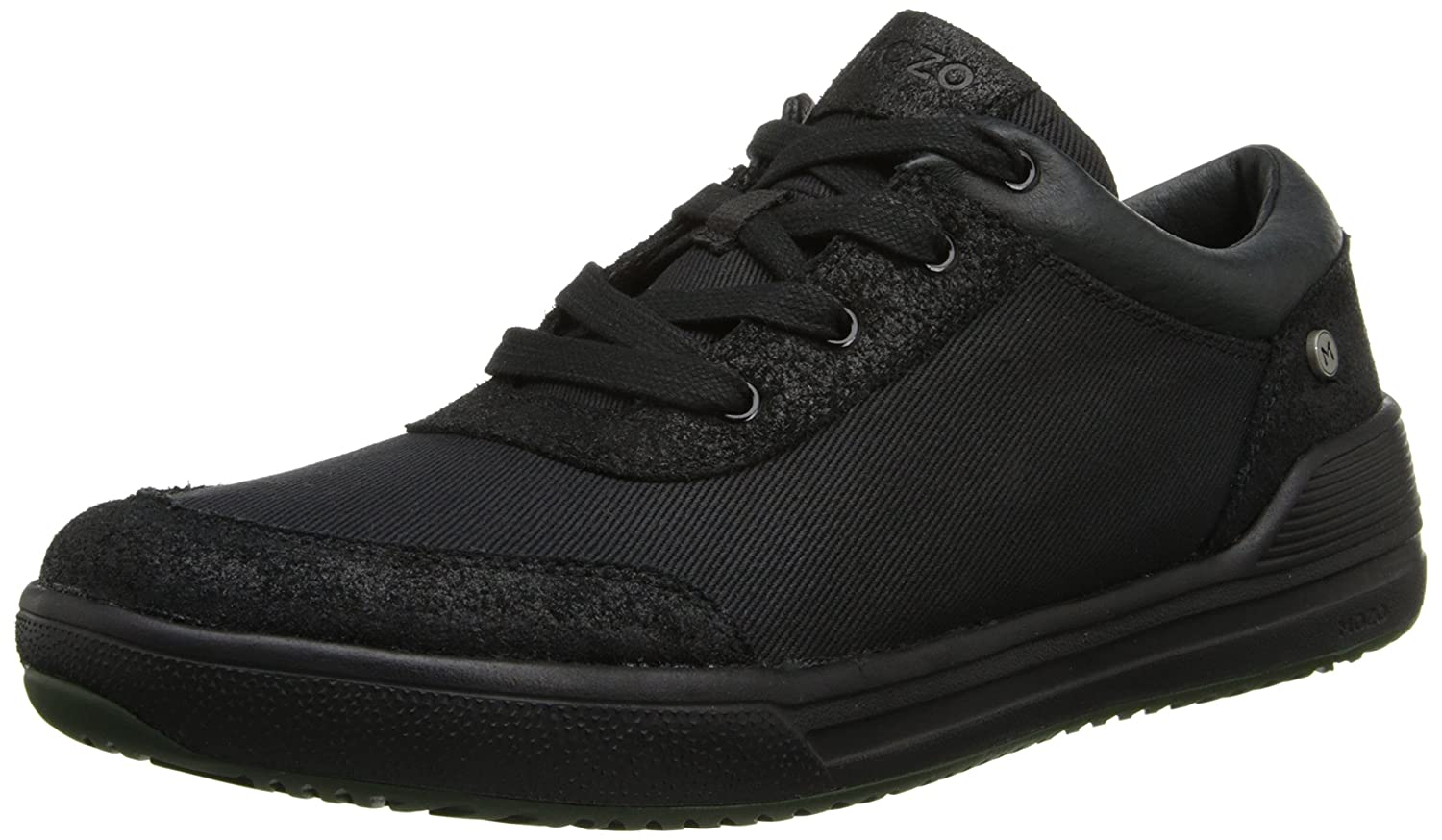 MOZO men's natural low canvas sneaker