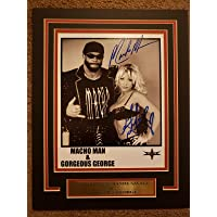 $124 » WWE WWF WCW MACHO MAN RANDY SAVAGE 11X14 Matted Namplate 8x10 PHOTO…
