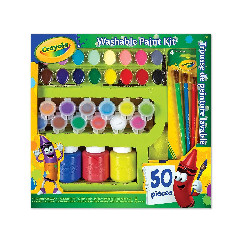 56fdcfa448 Crayola Washable Paint Kit