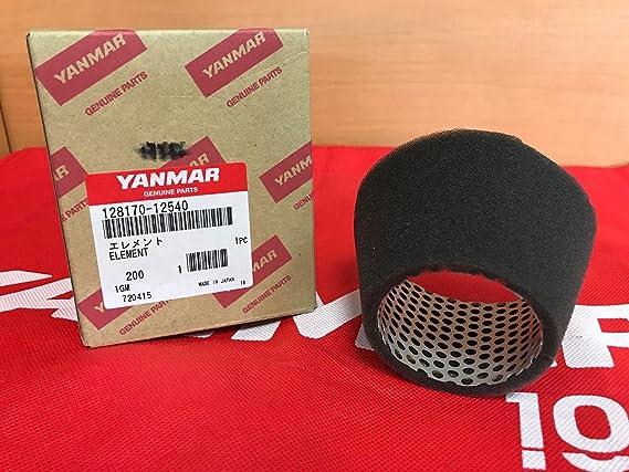 Genuine Yanmar Marine 1GM Air Filter Element 128170-12540