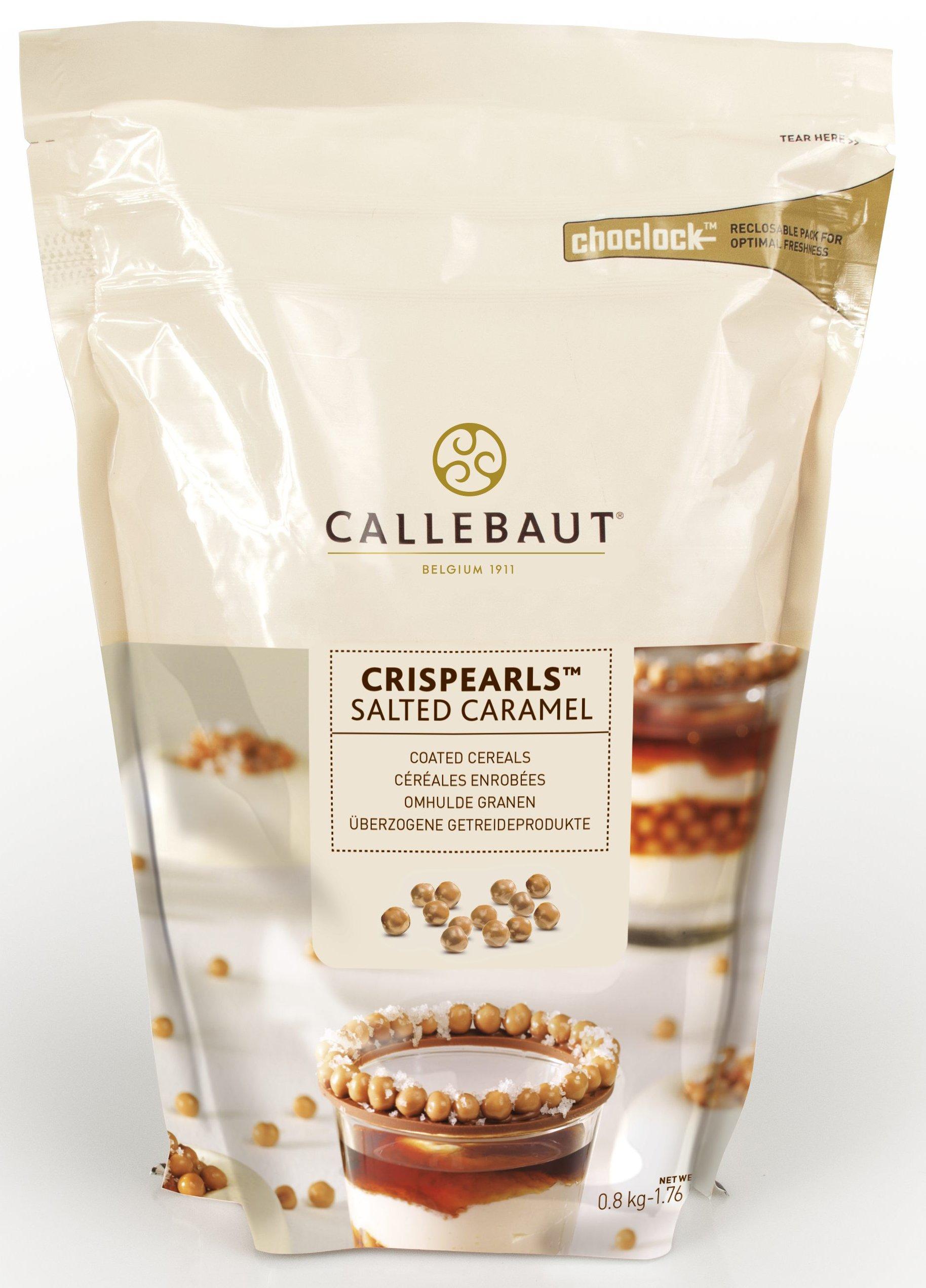 Callebaut Crispearls Salted Caramel 1.76 lbs
