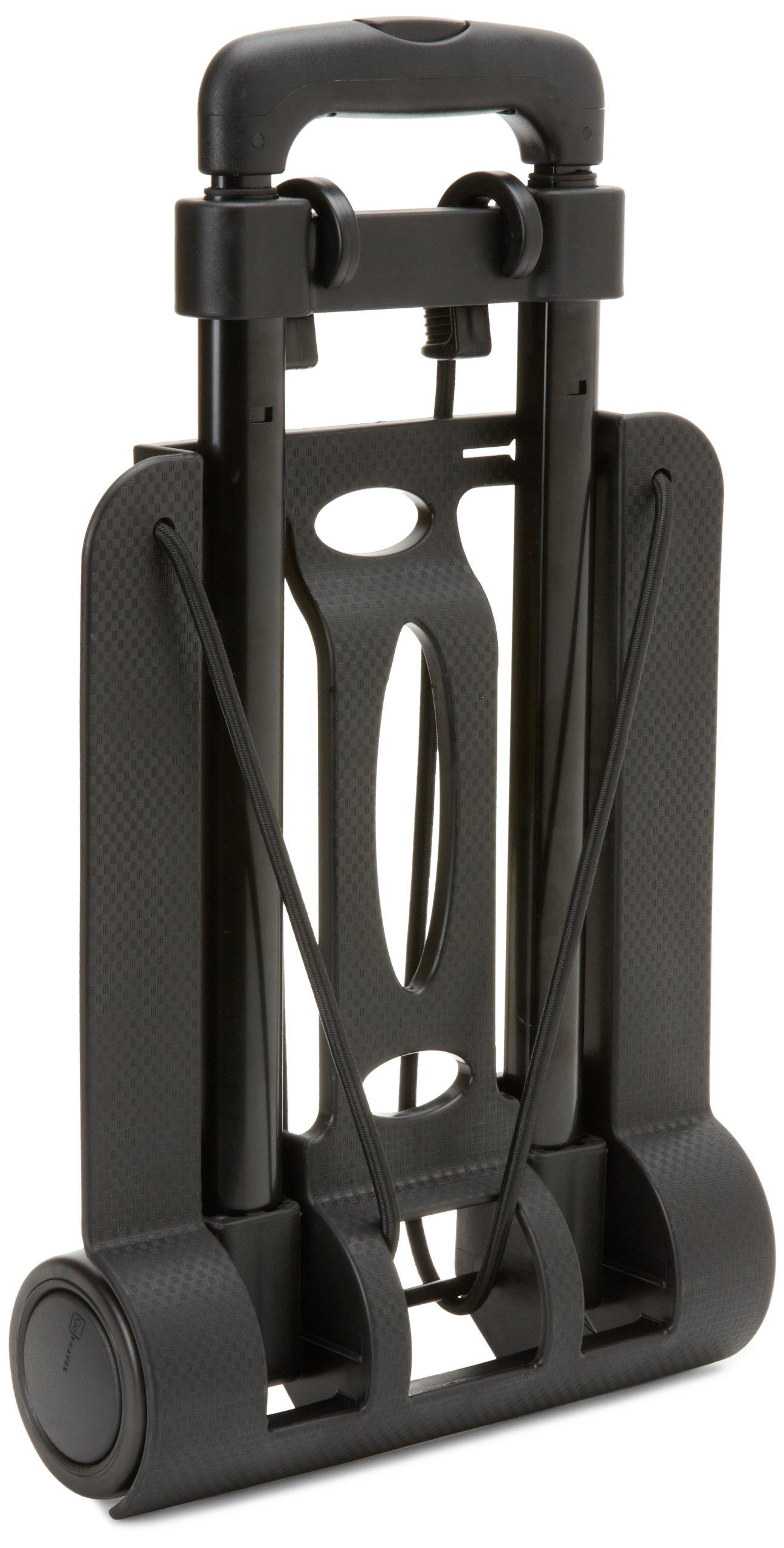 Design Go Luggage Travel Trolley, Black, One Size