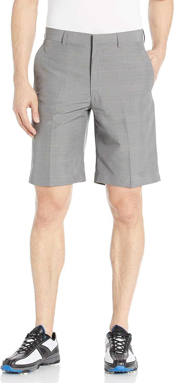 Louis Raphael Men's Flat Front Plaid Short