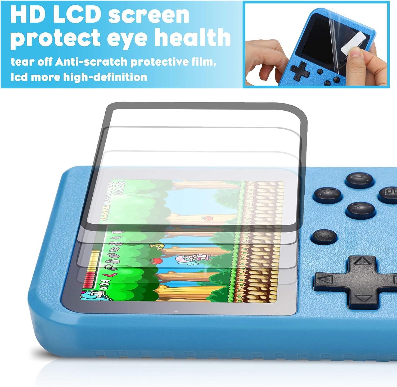 Fivejoy Console Portatile Console Giochi con 520 Giochi Console di Gioco Retro per Videogiochi con USB 1020 mAh Ricaricabile e Portatile Retro Game Console Boy