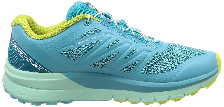 Salomon Salomon Salomon Damen Sense Pro Max W Traillaufschuhe, blau, 43.3 EU Blau (Blau Curacao/Beach Glass/Acid Lime 000) c92cb6