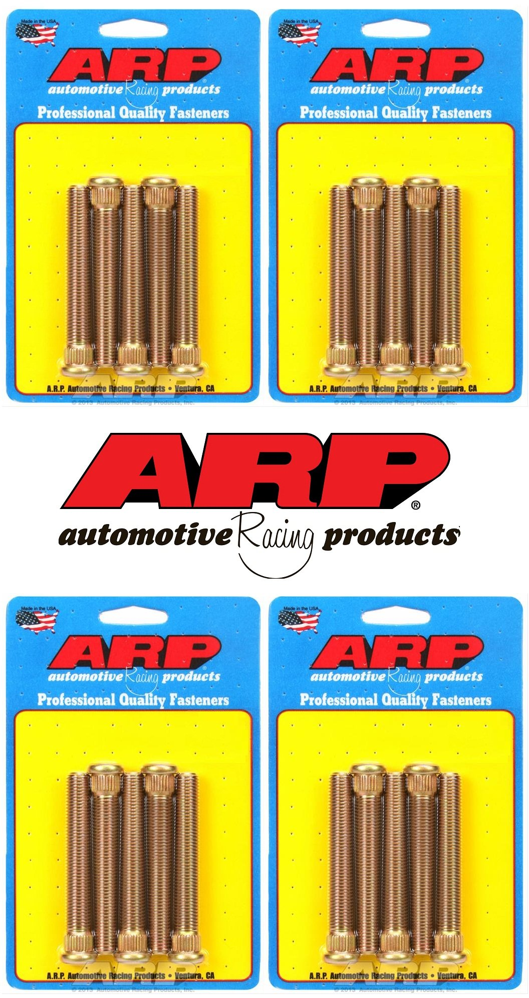 "ARP Wheel Stud Kit For Late GM & Camaro, M12 X 1.50"" - 3.250˝ UHL (Set of 20)"