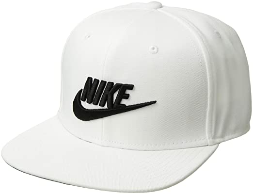 3bc9515486ec2 Nike Men's U NSW PRO CAP FUTURA Hat, White/Pine Green/Black, MISC:  Amazon.co.uk: Clothing