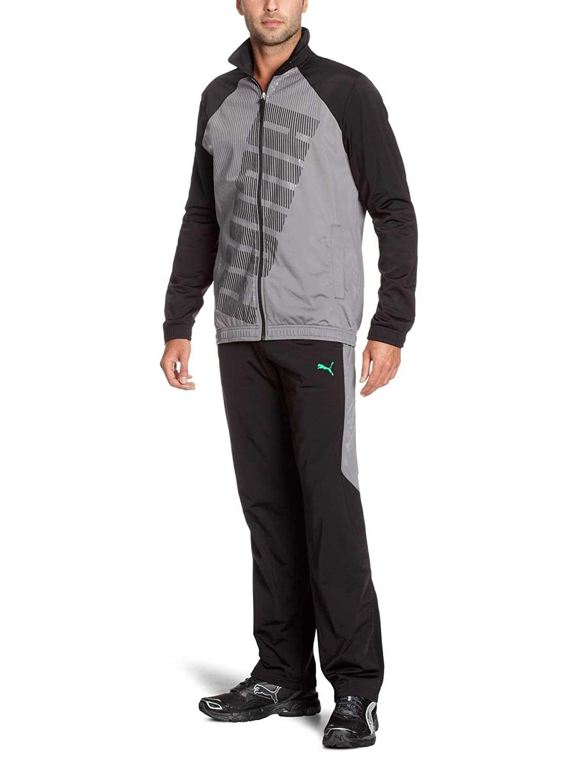 PUMA Men's Tracksuit Jacket with Graphic