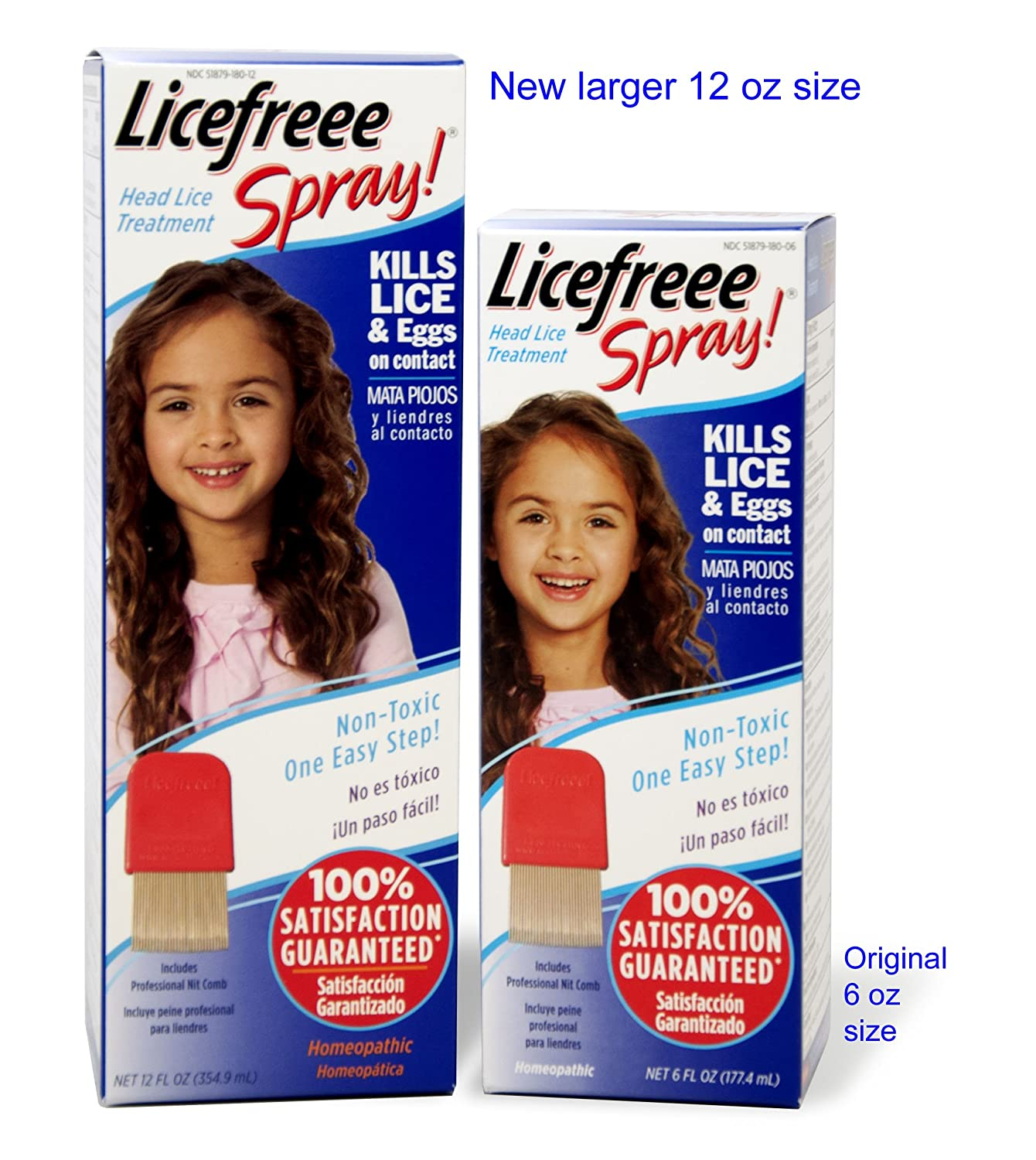 Amazon Licefreee Spray Large Family Size Head Lice Treatment