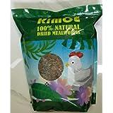 Kimoe 5LB 100% Natural Non-GMO dried mealworms-High-Protein for Birds, chicken,ducks