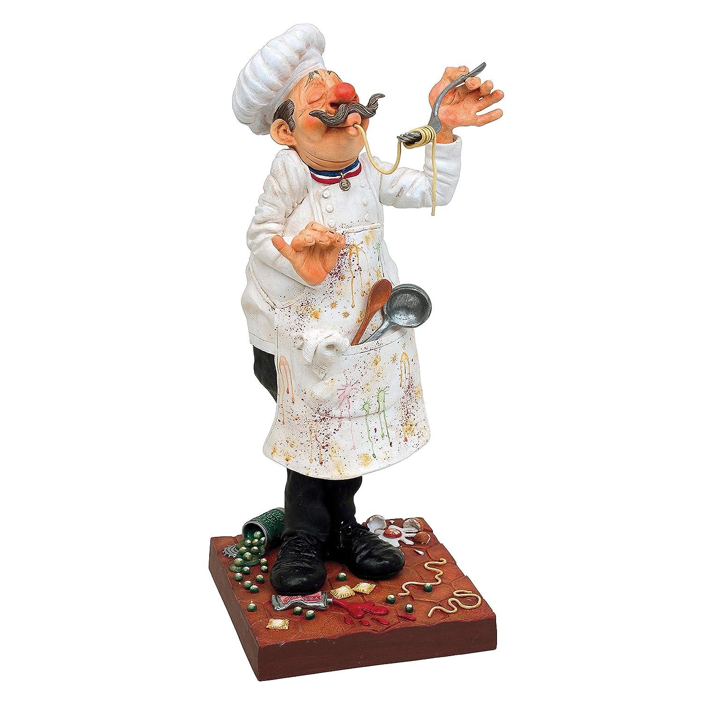 Unbekannt Guillermo Forchino FO84000 Figur der Koch, Kunstharz, Mehrfarbig, 20 x x 20 10 x 24 cm 4f6952