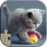 Cute Cat Puzzles for Kids - Full version