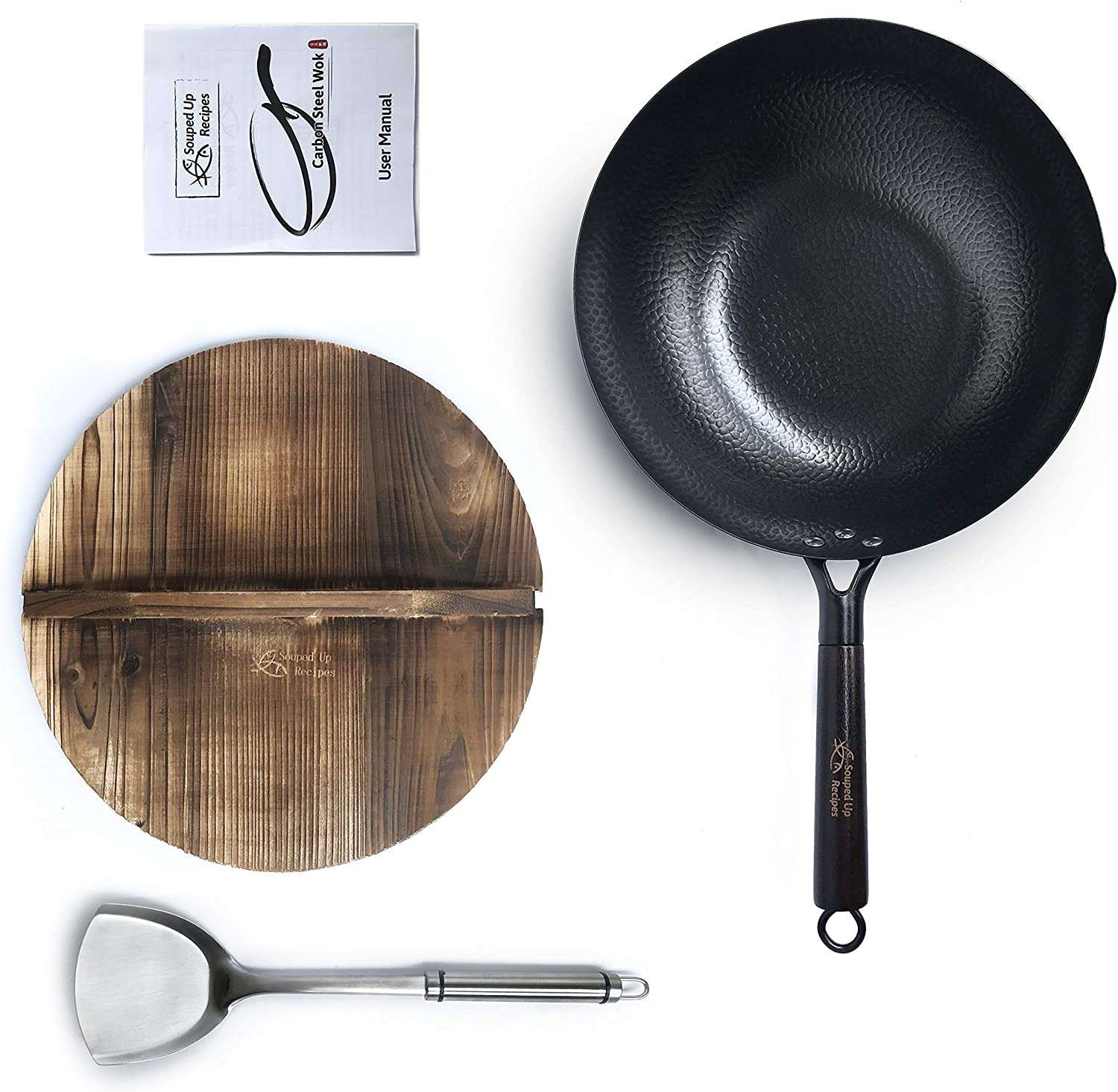 Carbon Steel Wok by Souped Up Recipes