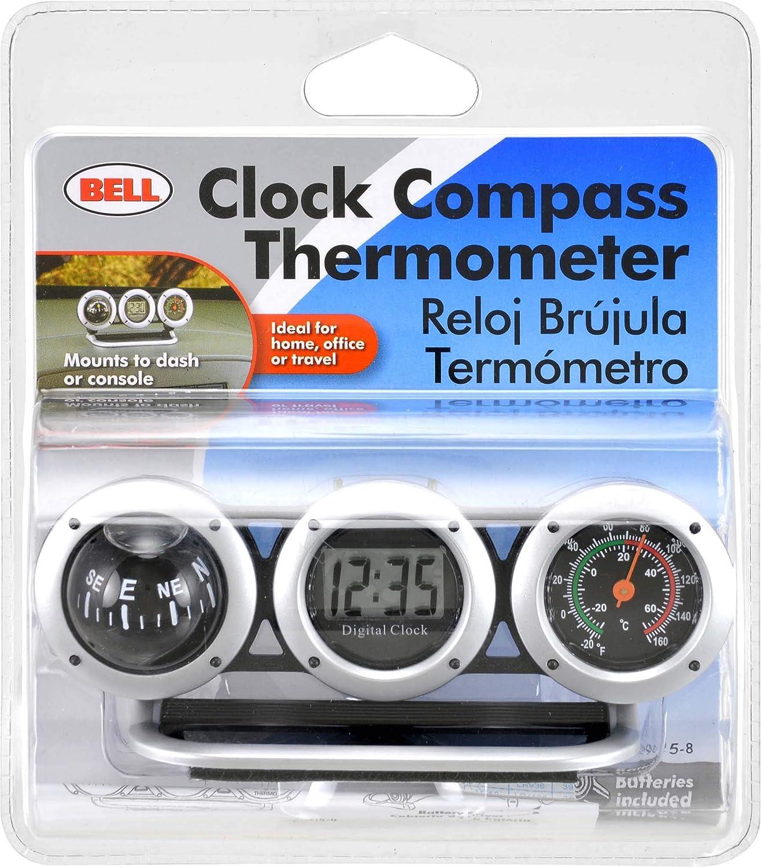 Digital Clock Navigation Compass Thermometer for Car Dash Mount Car Compass